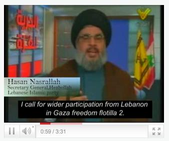 Hizbollah i ordkrig med egypten