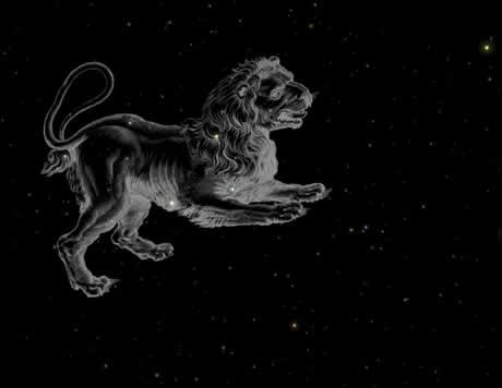 stjärnbilden lejonet