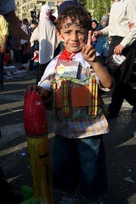 Egyptiska demonstranter lovar forgora staten israel